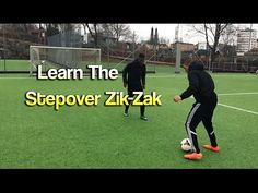 Learn Advanced Football Skills: The Stepover Zik Zak Alabama Football Funny, Ohio State Football, American Football, College Football, Soccer Practice, Soccer Skills, Soccer Coaching, Soccer Training, Soccer Dribbling Drills