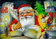 Priit Rea (virolainen taiteilija) - Hyvää joulua! Troll, Gnomes, Photo And Video, Christmas, Painting, Fictional Characters, Artists, Google, Nice Asses
