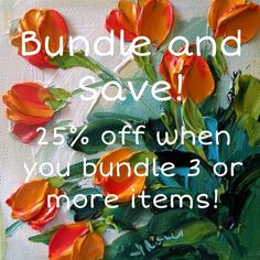 25% off when you bundle! Bundle and save! 25% off when you bundle 3 or more items. Also, make me an offer on anything you'd like :-) Other
