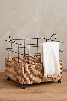 Freshly Cut - Sale Home & Furniture Rattan, Home Decor Baskets, Anthropologie Home, Upcycled Home Decor, Sisal, Decorative Storage, Interior Accessories, Bathroom Accessories, Home Decor Bedroom