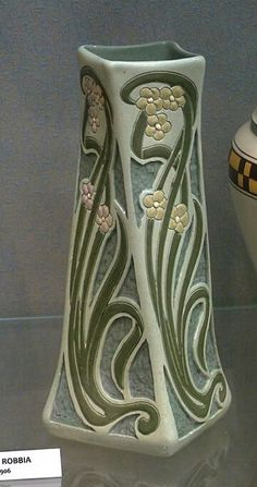 Roseville Pottery - Della Robbia - Wisconsin Art Pottery Association