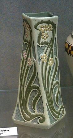 Roseville Pottery - Della Robbia - Wisconsin Art Pottery Association