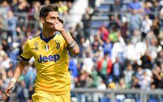 Indir duvar kağıdı Dybala, gol, Juventus, futbol yıldızları, Paulo Dybala, futbolcular, Komiser juve, İtalya, Serie A