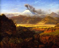 Cotopaxi - Louis Remy Mignot - circa 1859
