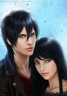 Vayne and Megan by shuangwen.deviantart.com on @DeviantArt
