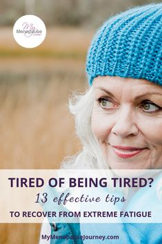 Recover from extreme fatigue in menopause! Recover from extreme fatigue in menopause! Menopause Fatigue, Menopause Relief, Chronic Fatigue Syndrome Diet, Chronic Fatigue Symptoms, Menopause Symptoms, Adrenal Fatigue, Menopause Diet, Chronic Illness, Extreme Fatigue Causes
