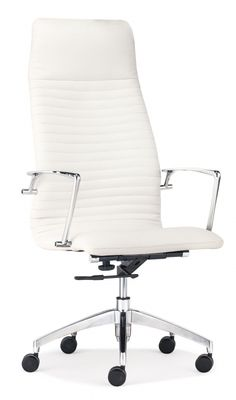 High Office Chairs whiteline napoleon executive high back office chair – modish store