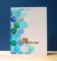 You Are a Wonderful Friend by CristinaK - Cards and Paper Crafts at Splitcoaststampers