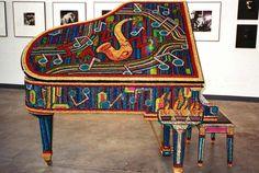 Piano colorful http://pinterest.com/cameronpiano