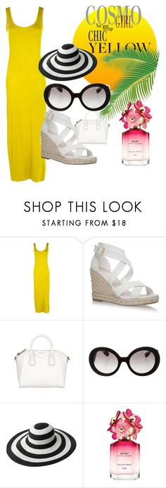 """""""Untitled #21"""" by smuxe ❤ liked on Polyvore featuring Boohoo, Givenchy, Prada and Marc Jacobs"""