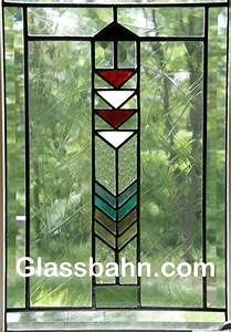 Stained Glass Prairie Style Lighthouse