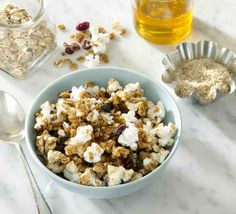 WHOLE-GRAIN TOASTED BERRY GRANOLA by JOLLY TIME Pop Corn #popcorn www.jollytime.com