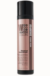 Tressa Mocha Drench Watercolor Shampoo - Use Tressa Mocha Drench Color Depositing Shampoo on Deep Brunette hair. Saturates hair in chocolate cappuccino blends, while filtering out red or brassy hues.