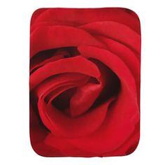 #girly - #Red Rose Burp Cloth