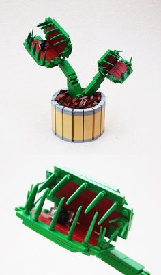 Our twenty-first entry to our Iron Builder with Siercon and Coral. Flowers and monsters have kinda been the theme of this round. Lego Flower, Lego Tree, Lego Costume, Lego Halloween, Lego Creative, Lego Boards, Lego Pictures, Lego Activities, Cool Lego Creations