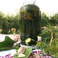 Liście chrzanu! Na co to komu!:) 3 sposoby na (z)chrzanienie czegoś Pickles, Cucumber, Recipes, Painting, Food, Art, Craft Art, Meal, Paintings