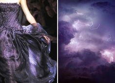 Fashion Inspired By Nature In Diptychs By Liliya Hudyakova