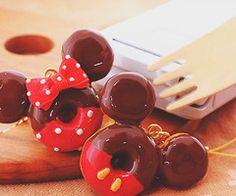 donuts! mickey and minnie