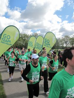 The start of the Macmillan 10k.