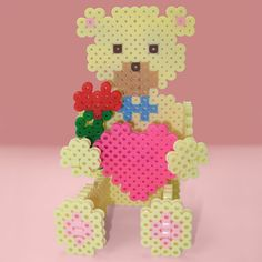 <p>Have fun creating this 3-D Sweetheart Bear for your sweetheart, your mom, or your grandmother. It's easy to put together with simple tab and slot assembly.</p>