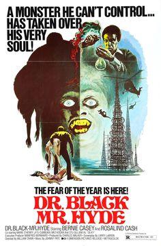 Dr. Black Mr. Hyde (1976) starring Bernie Casey & Rosalind Cash
