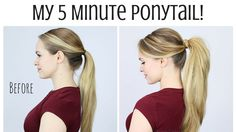 7 Easy Ways To Rock Your Pony Tail And Give It Extra Volume