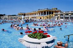 Thermal Springs Budapest Where to go on Holiday in February | HolidayNights Blog