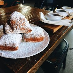 [I ate] Beignets at Lucky's Doughnuts in Vancouver #food #foodporn #recipe #cooking #recipes #foodie #healthy #cook #health #yummy #delicious