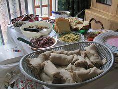 Injera Bread: Addis Ababa, Ethiopia