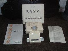 Toyota K82A Intarsia Carriage -