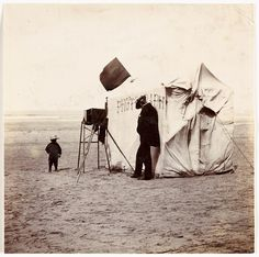 Beach photographer by National Media Museum, via Flickr