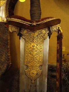 Ethnographic Arms & Armour - WALLACE COLLECTION Oriental Room, London UK