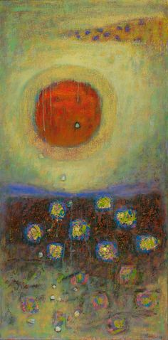 A New Day Arrives | oil on canvas | 32 x 16 | 2013http://bit.ly/11ZsLyI