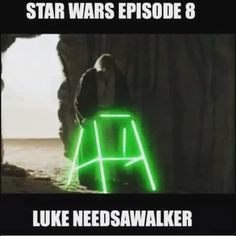 The plot for the next #starwars #movie has leaked! #LukeSkywalker is old and…