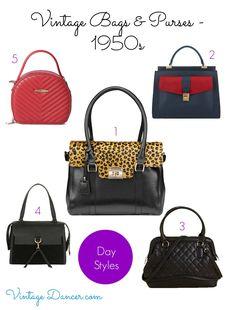 1950s Handbags, Purses, and Evening Bag Styles