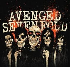 I love this band ~*together foREVer *~ . Great Bands, Cool Bands, Avenged Sevenfold Wallpapers, Waking The Fallen, M Shadows, Rock Band Posters, Zacky Vengeance, Band Wallpapers, Heavy Metal Bands