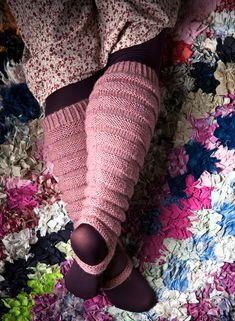 By Pia Heilä, Lankava Oy. Bed Socks, Fashion Socks, Knitting Socks, Leg Warmers, Handicraft, Fingerless Gloves, Fiber Art, Knit Crochet, Diy And Crafts