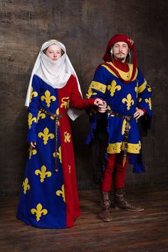 Heraldic medieval surcote Europe 14th century by RoyalTailor                                                                                                                                                                                 More