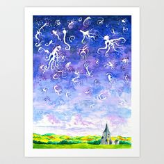 Midwest dreams #2 Art Print by Will Santino - $19.00