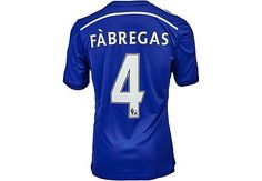 ed54554ffa adidas Fabregas Chelsea Home Jersey 2014-15...get yours at SoccerPro now