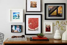 At-Home Gallery : Wall Frames in All Styles