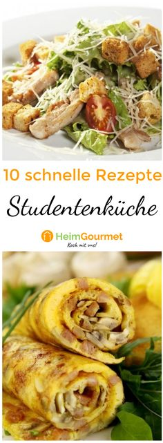 Die 10 besten Rezepte für die Studentenküche