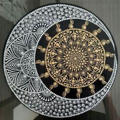 Canvas Painting Tutorials, Rock Painting Ideas Easy, Dot Art Painting, Rock Painting Designs, Stone Painting, Mandala Art Lesson, Mandala Drawing, Mandala Painting, Mandela Art