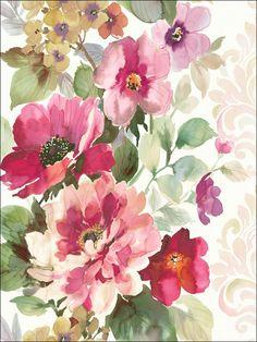 wallpaperstogo.com WTG-108005 Seabrook Designs Transitional Wallpaper