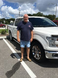 """Mr. Fox came into Lakeland Automall in the hopes of finding a new vehicle. With the help of salesmen Lawrence Christian, Mr. Fox left with a 2016 Ford F-150! """"Have always been treated fairly and with respect!"""" We really appreciate your business here with us! We hope that you are enjoying your new Ford F-150 and please; if there is anything that we can do, don't hesitate to ask… We are here to help! #LakelandAutomall #LakelandFord #Ford #FordF150"""
