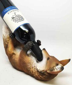 Fox Wine Bottle Holder