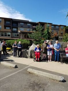 Happy #IndependenceDay from our awesome Lacey community Senior residents! Breakfast, flag ceremony, lunch, treats, trains and a delicious BBQ dinner. They were having a lot of fun. #July4th #SeniorLiving #MemoryCare #AssistedLiving