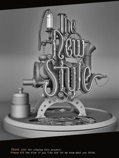 The New Style on Behance