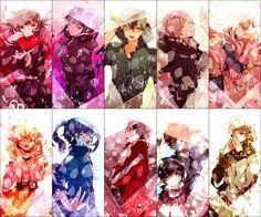 Mekaku City Actors has a good story and it has somewhat good comedy to me personally Anime Chibi, Anime Art, Mekakucity Actors Konoha, Anime Friendship, Dark Anime Guys, Anime Songs, Anime Group, Stray Dogs Anime, Kagerou Project