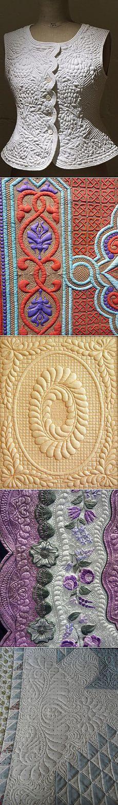 Техника Трапунто (Trapunto) ...объемная вышивка